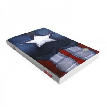CAPTAIN AMERICA NOTEBOOK W/LIGHT MARVEL CIVIL WAR