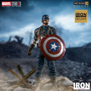 CAPTAIN AMERICA 1ST AVENGER - 1/10 BDS ART SCALE EXCLUSIVE
