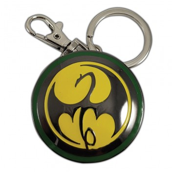 MARVEL PORTE-CLES - IRON FIST LOGO METAL