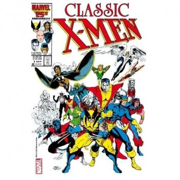 MARVEL STEEL COVER 01- CLASSIC X-MEN - GIANT SIZE