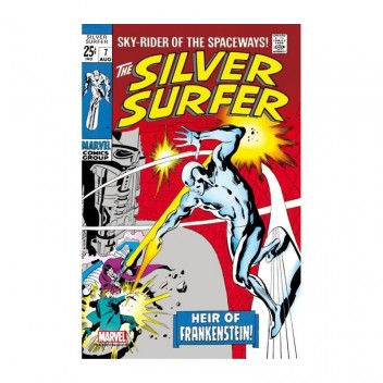 MARVEL STEEL COVER 03 - SILVER SURFER 7 - GIANT SIZE