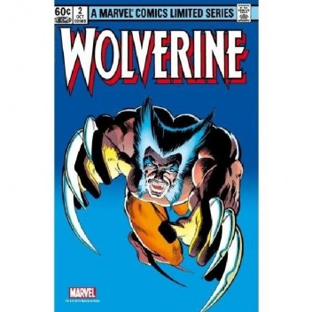 MARVEL STEEL COVER 04 - WOLVERINE 2 - GIANT SIZE