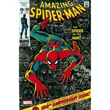 MARVEL STEEL COVER 05 - AMAZING SPIDER-MAN 100 - GIANT SIZE