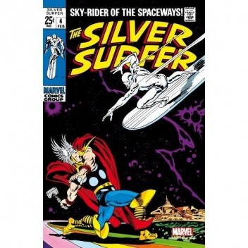 MARVEL STEEL COVER 06 - SILVER SURFER 4 - GIANT SIZE