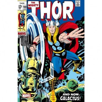MARVEL STEEL COVER 07 - THOR 160 - GIANT SIZE