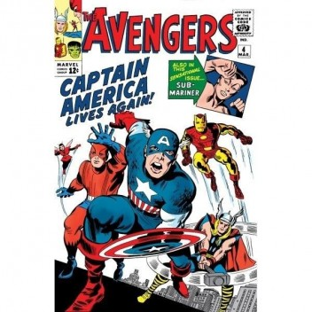 MARVEL STEEL COVER 14 - AVENGERS 4 - GIANT SIZE