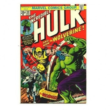 MARVEL STEEL COVER 19 - INCREDIBLE HULK 181 - GIANT SIZE
