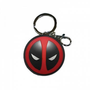 DEADPOOL LOGO METAL KEYCHAIN - MARVEL
