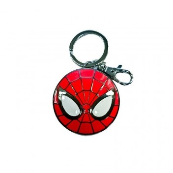 SPIDER-MAN LOGO METAL KEYCHAIN - MARVEL