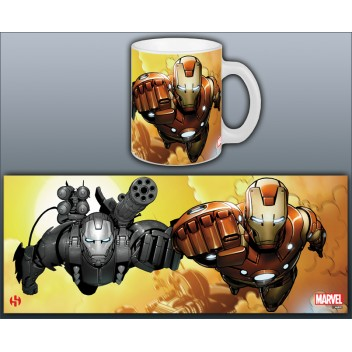 MARVEL MUG IRON MAN - INVINCIBLE DUO