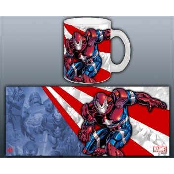 MARVEL MUG IRON MAN - IRON PATRIOT