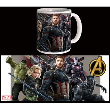 MARVEL MUG AVENGERS : INFINITY WAR - WAKANDA BATTLE