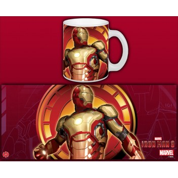 MARVEL MUG IM3 MARK XLII FLYING