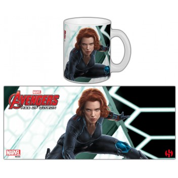 MARVEL MUG BLACK WIDOW - AOU - SERIE 2