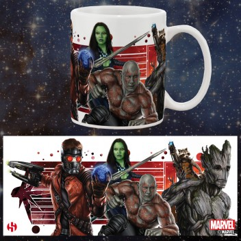 MARVEL MUG GROUPE - GUARDIANS OF THE GALAXY