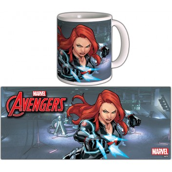 MARVEL MUG BLACK WIDOW - AVENGERS SERIE 2