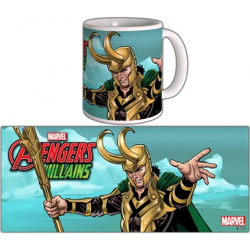 MARVEL MUG LOKI - AVENGERS VILLAINS