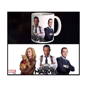 MARVEL MUG CAPTAIN MARVEL - TRIO