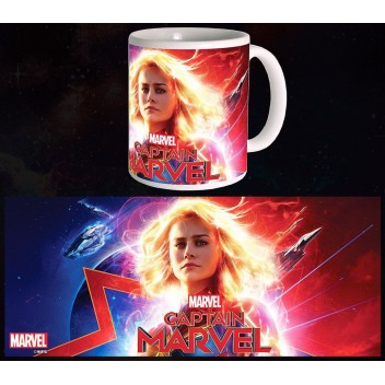 MARVEL MUG CAPTAIN MARVEL - GLOWING