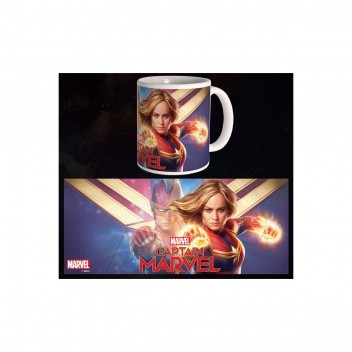MARVEL MUG CAPTAIN MARVEL - HERO