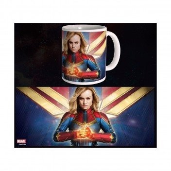 MARVEL MUG CAPTAIN MARVEL - FIGHT