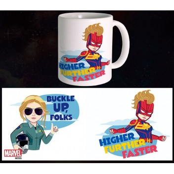 MARVEL MUG CAPTAIN MARVEL - BFFS
