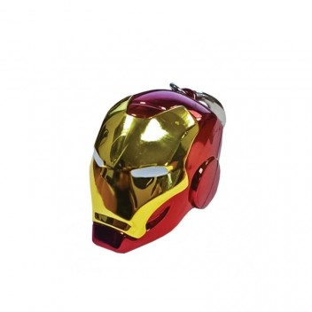 IRON MAN HELMET (COLOR) KEYCHAIN - MARVEL