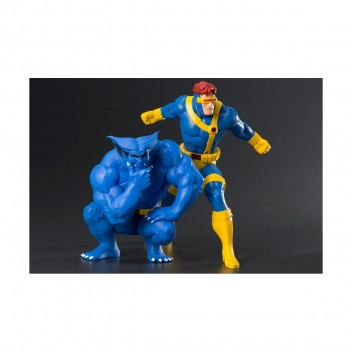 CYCLOPS & THE BEAST - X-MEN 92' - TWO PACK ARTFX STATUE