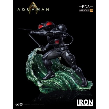 AQUAMAN THE MOVIE - BLACK MANTA 1/10 BDS STATUE