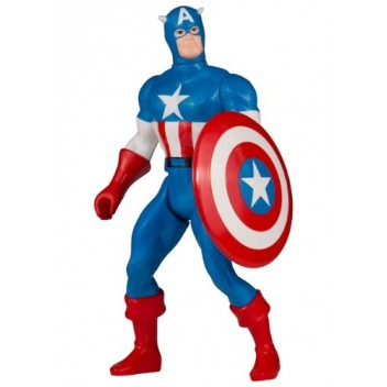 CAPTAIN AMERICA JUMBO FIGURE SECRET WARS MARVEL - GENTLE GIANT