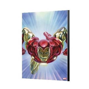 TONY STRAK: IRON MAN 1 - ALEX ROSS - AVENGERS LAMINAGE 40X60