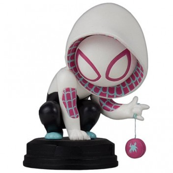 SPIDER-GWEN ANIMATED STATUE - GENTLE GIANT