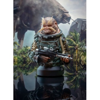 BISTAN MINI BUST STATUE SW ROGUE ONE - GENTLE GIANT