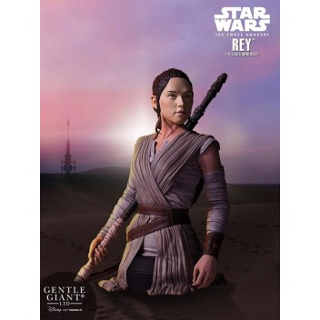 REY STAR WARS VII MINI BUST - GENTLE GIANT