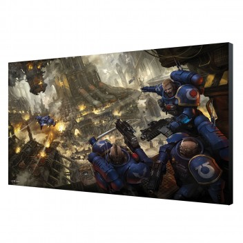 LAMINAGE 60x40 - URBAN CONQUEST - WARHAMMER 40K