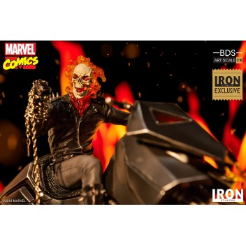 GHOST RIDER BDS ART SCALE  1/10 - MARVEL COMICS EXCLUSIVE STATUE