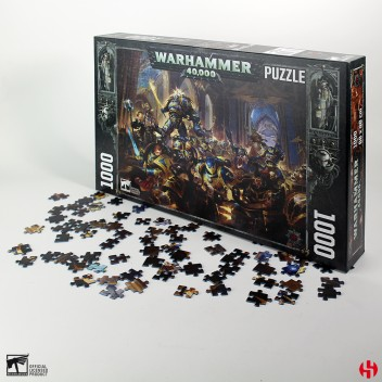 GULLIMAN vs BLACK LEGION - W40K PUZZLE