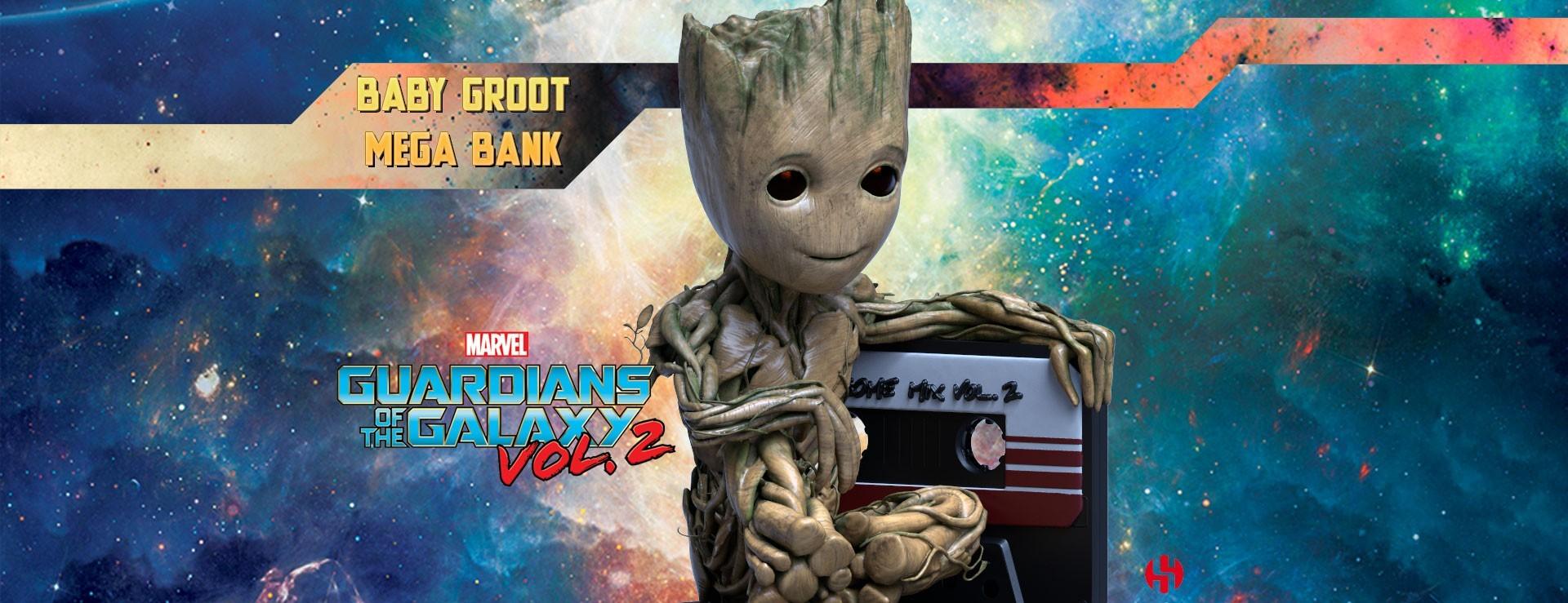 Baby Groot Mega Bank