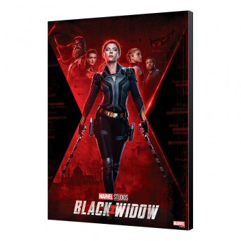 BLACK WIDOW MOVIE - LAMINAGE 10 - 33.7 x 50 cm