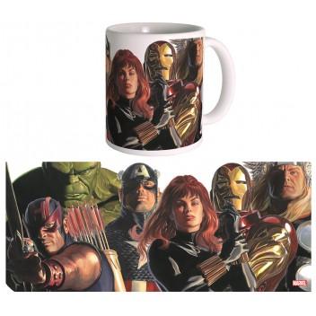 Mug Marvel Heroes - Alex Ross - The Avengers