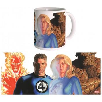Mug Marvel Heroes - Alex Ross - The Fantastic Four
