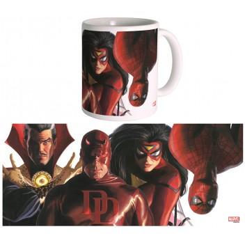 Mug Marvel Heroes - Alex Ross - Marvel knights