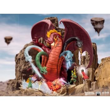 Dungeons & Dragons - Tiamat Battle demi-art scale 1/20