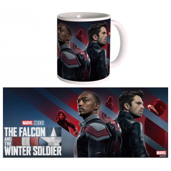 Mug Falcon and the Winter Soldier - Poster