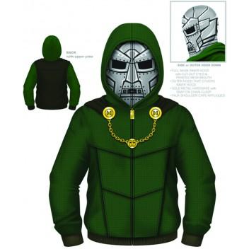 Dr.Doom Costume Hoodie Xxl