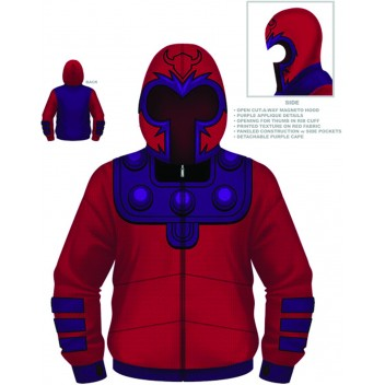 Magneto Costume Hoodie L