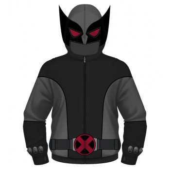 Wolverine X-Force Costume Hoodie  Xl