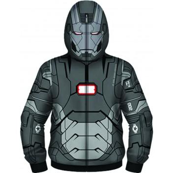 Im3 Iron Patriot Costume Hoodie Xxl