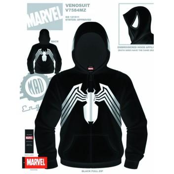 Venom Venosuit Zip Up Hoodie - L