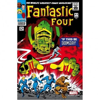 MARVEL STEEL COVER 02 - FANTASTIC FOUR 49 - COMICS SIZE
